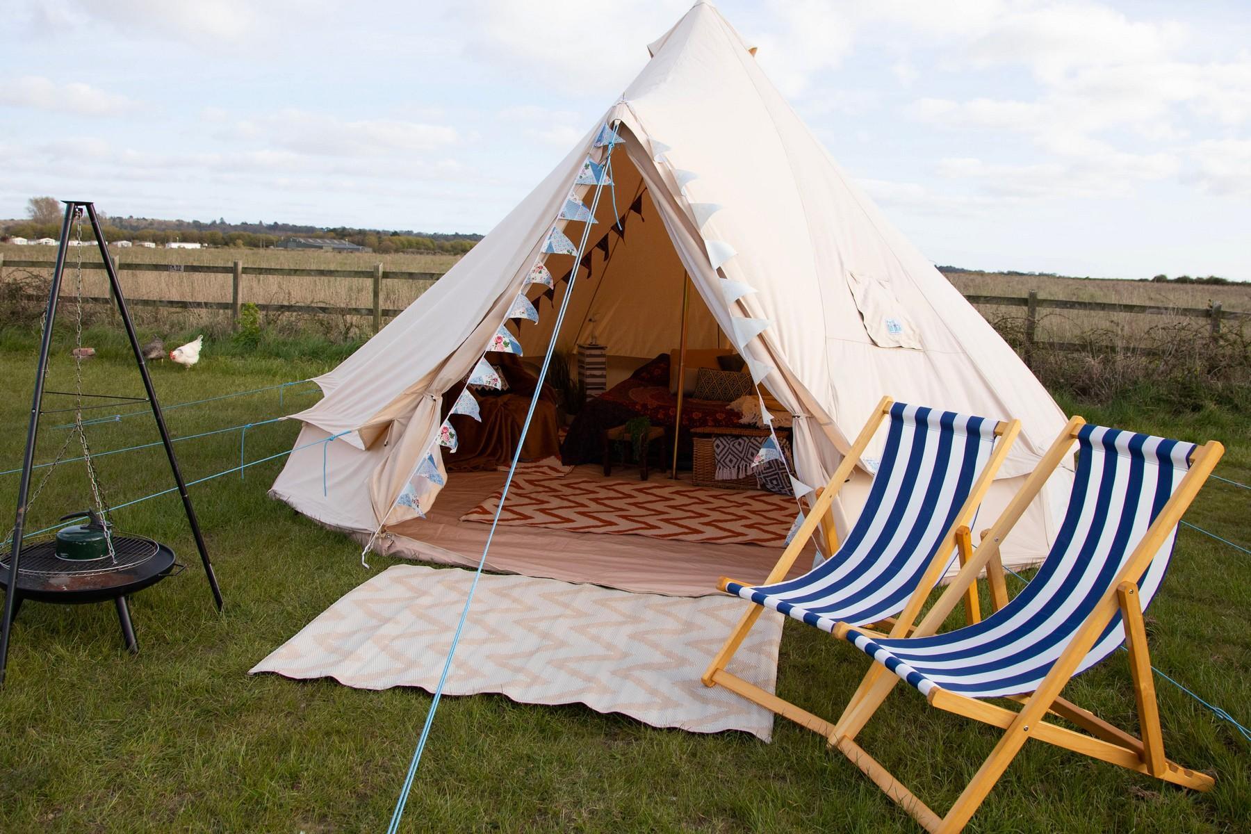 Hunstanton - Bell Tent- Glamping