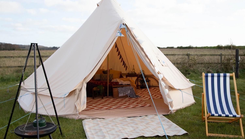 Hunstanton - Glamping Bell Tent
