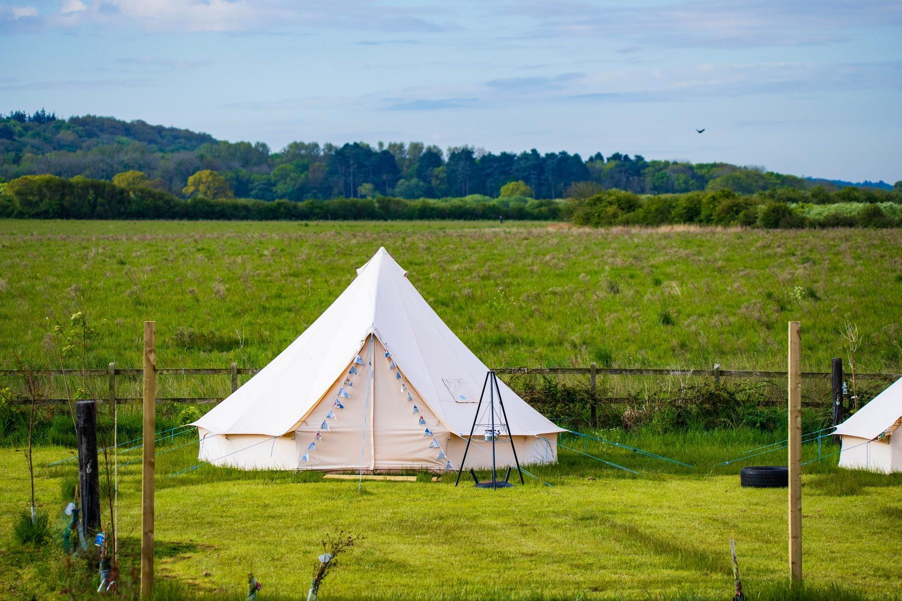 Hunstanton - Blank Canvas Bell Tent
