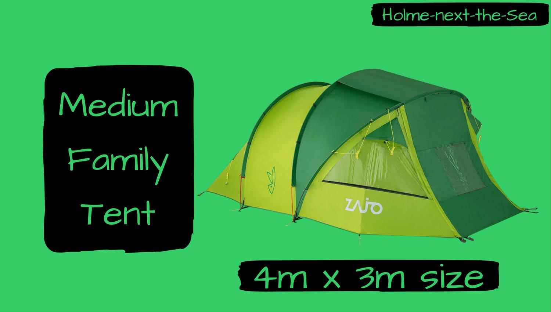 Holme - Medium Family Tent