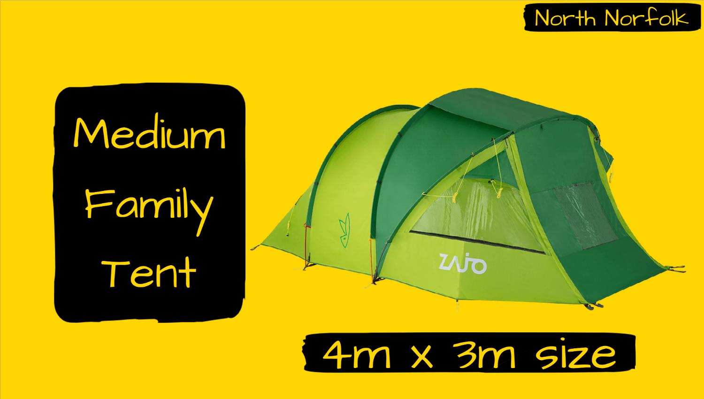 Burnham - Medium Family Tent