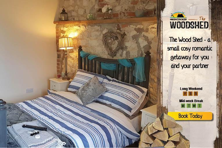 The Coastal B&B Woodshed, Cosy Cottage for two