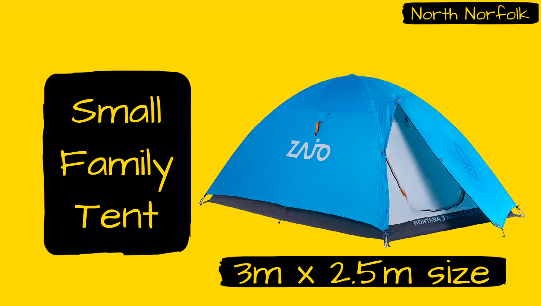 Burnham - Small Family Tent