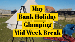Spring Bank Holiday - Bell Tent - Long Weekend